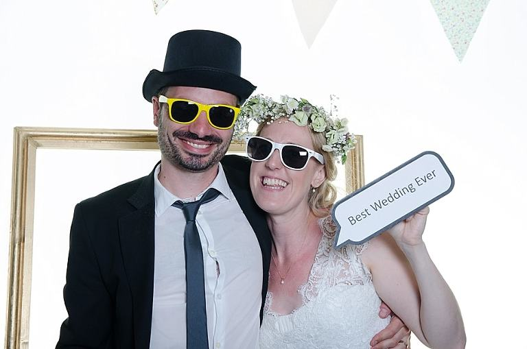 Best wedding photo-booth Bristol