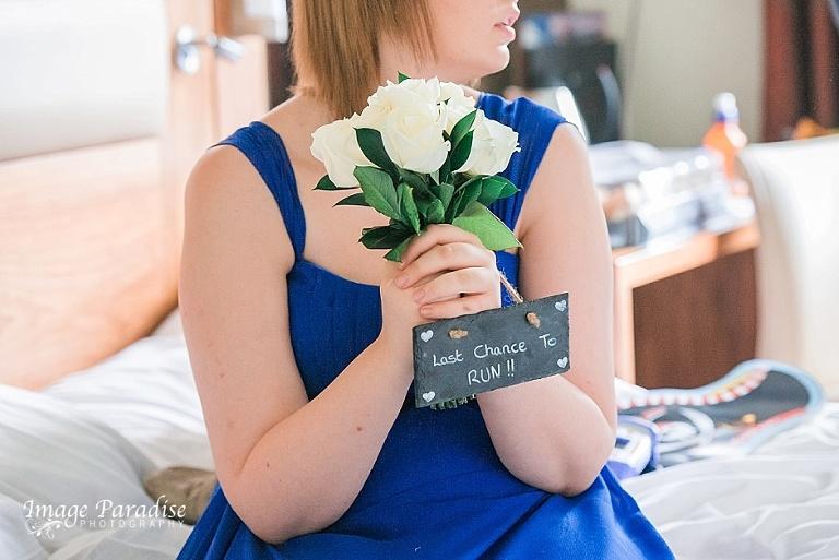 Last chance to run Hilton Bristol wedding