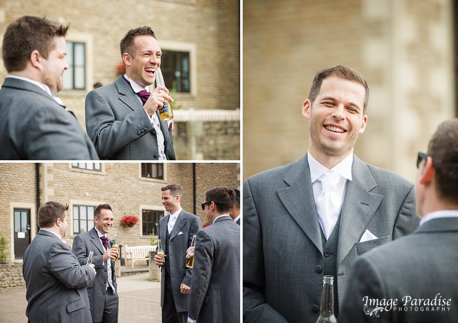 Cumberwell park wedding - Groomsmen