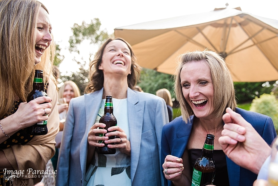 Cumberwell Park wedding laughter