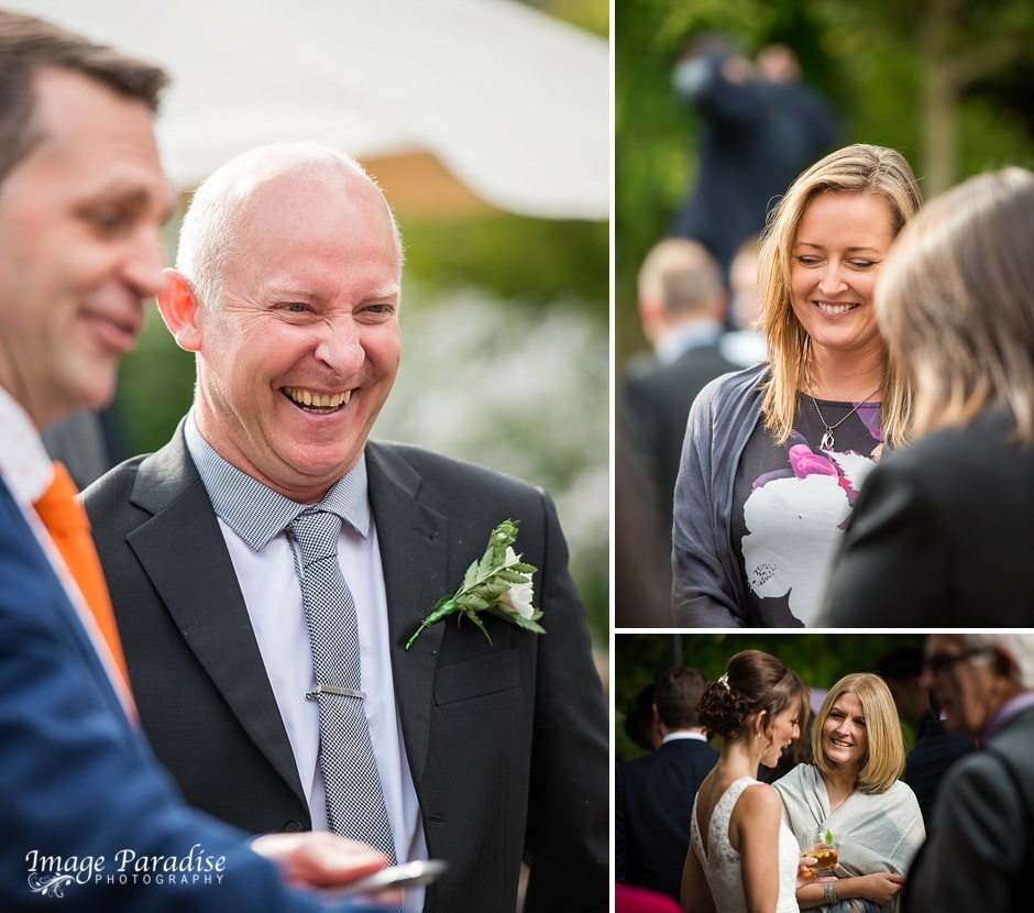Cumberwell Park wedding guests