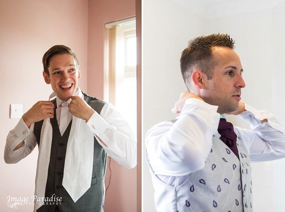 Cumberwell park wedding groom prep-2