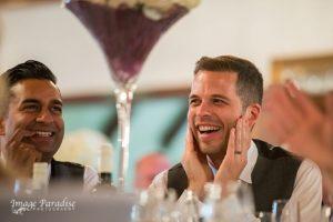 Cumberwell Park wedding speeches laughter