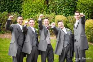 Cumberwell park wedding -Groomsmen 2
