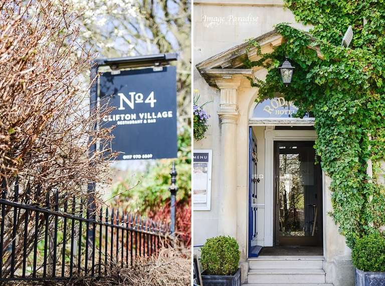 No4 Clifton village Bristol wedding venue