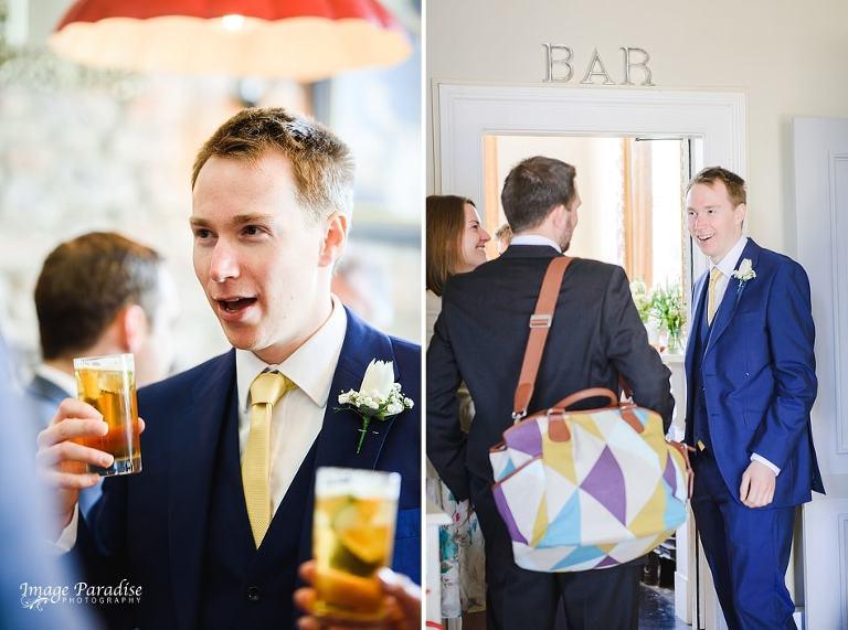 Pre wedding drinks at No4 Clifton village