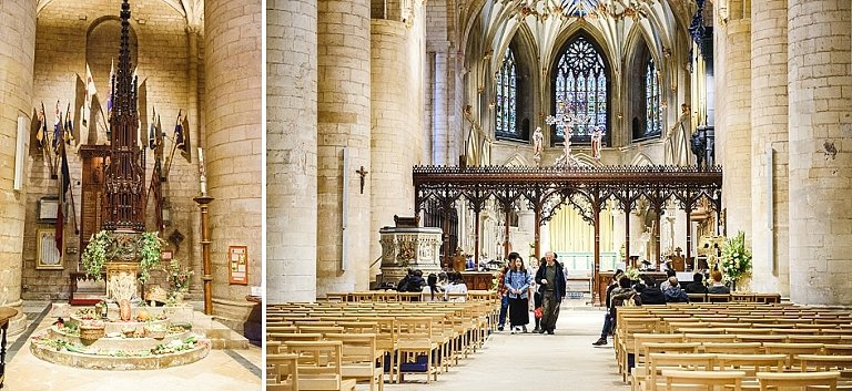 Tewkesbury Abbey open to the public