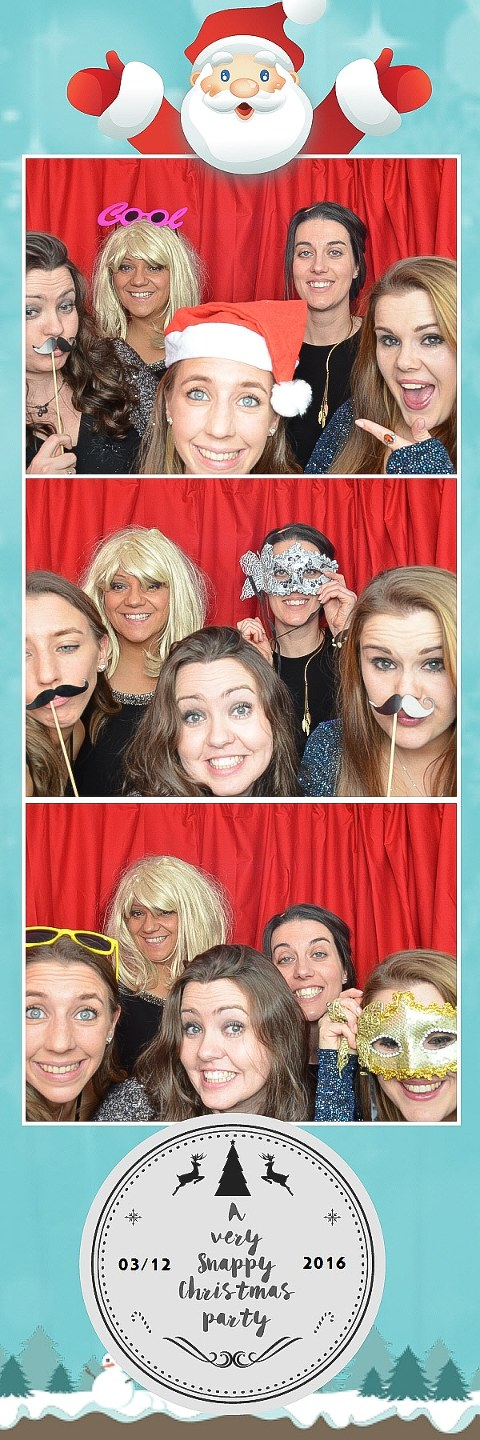 fake moustaches and masks photo booth strip