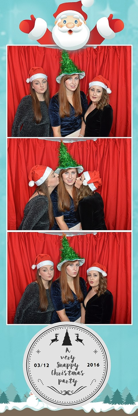 Bristol xmas photo booth office party