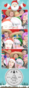 Bath xmas party photo booth group photo