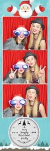 photo strip xmas party image