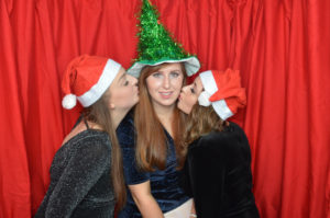 Xmas party photo booth Bailbrook House