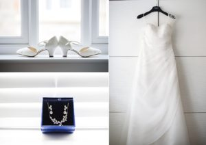 Wedding details, the dress, shoes and jewellery