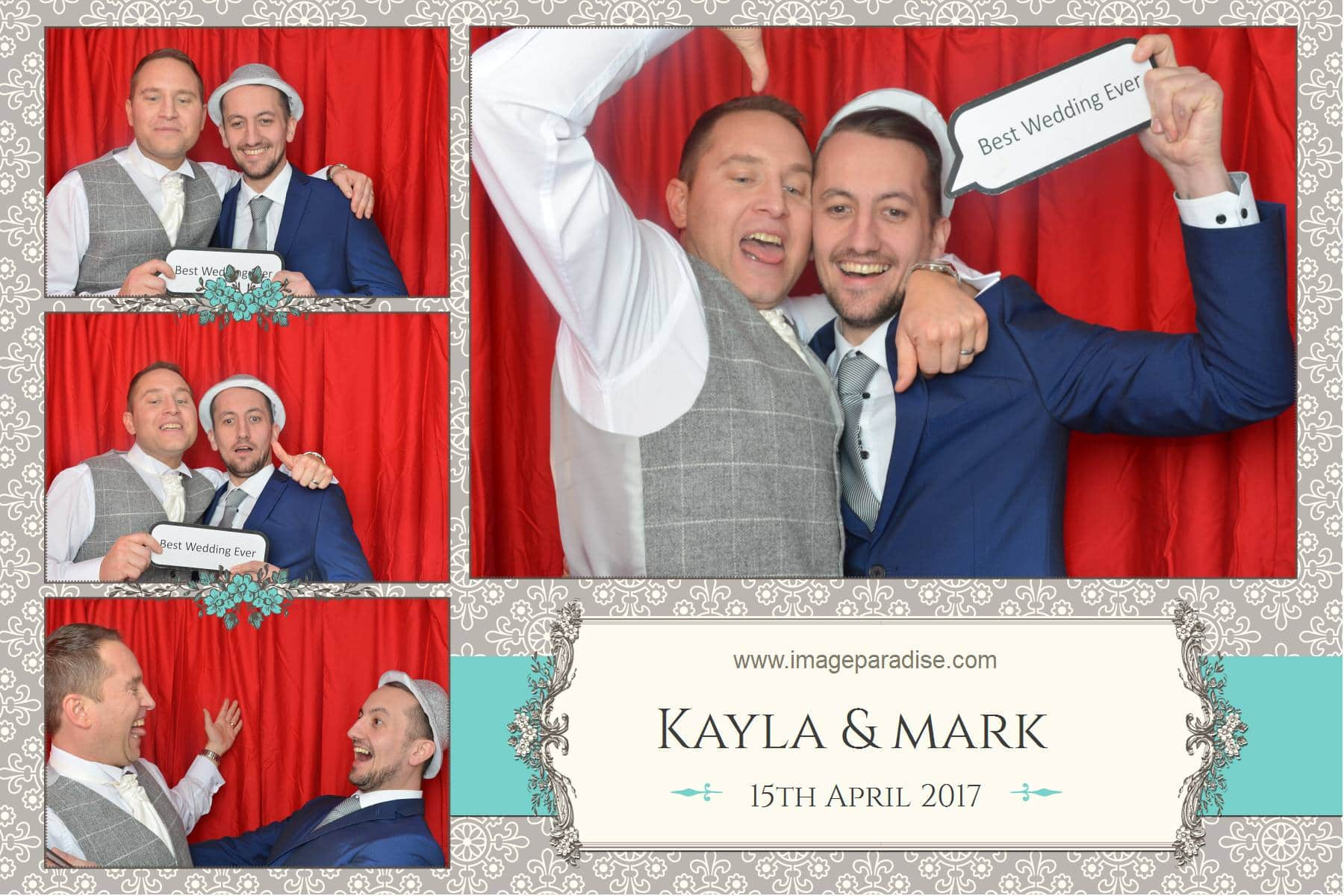 Messing about in the photo booth